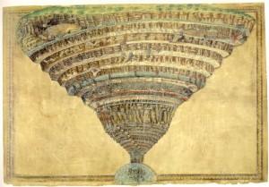 la mappa del inferno